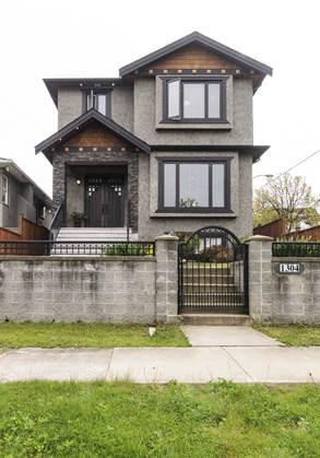Gated front yard at 1304 E 35th Avenue, Knight, Vancouver East