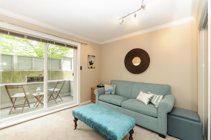 Second bedroom at 102 - 1206 W 14th Avenue, Fairview VW, Vancouver West