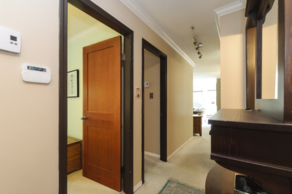Beautiful solid wood doors at 102 - 1206 W 14th Avenue, Fairview VW, Vancouver West