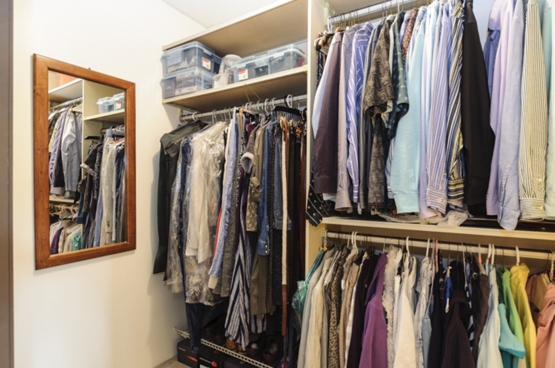 Walk in closet at 102 - 1206 W 14th Avenue, Fairview VW, Vancouver West