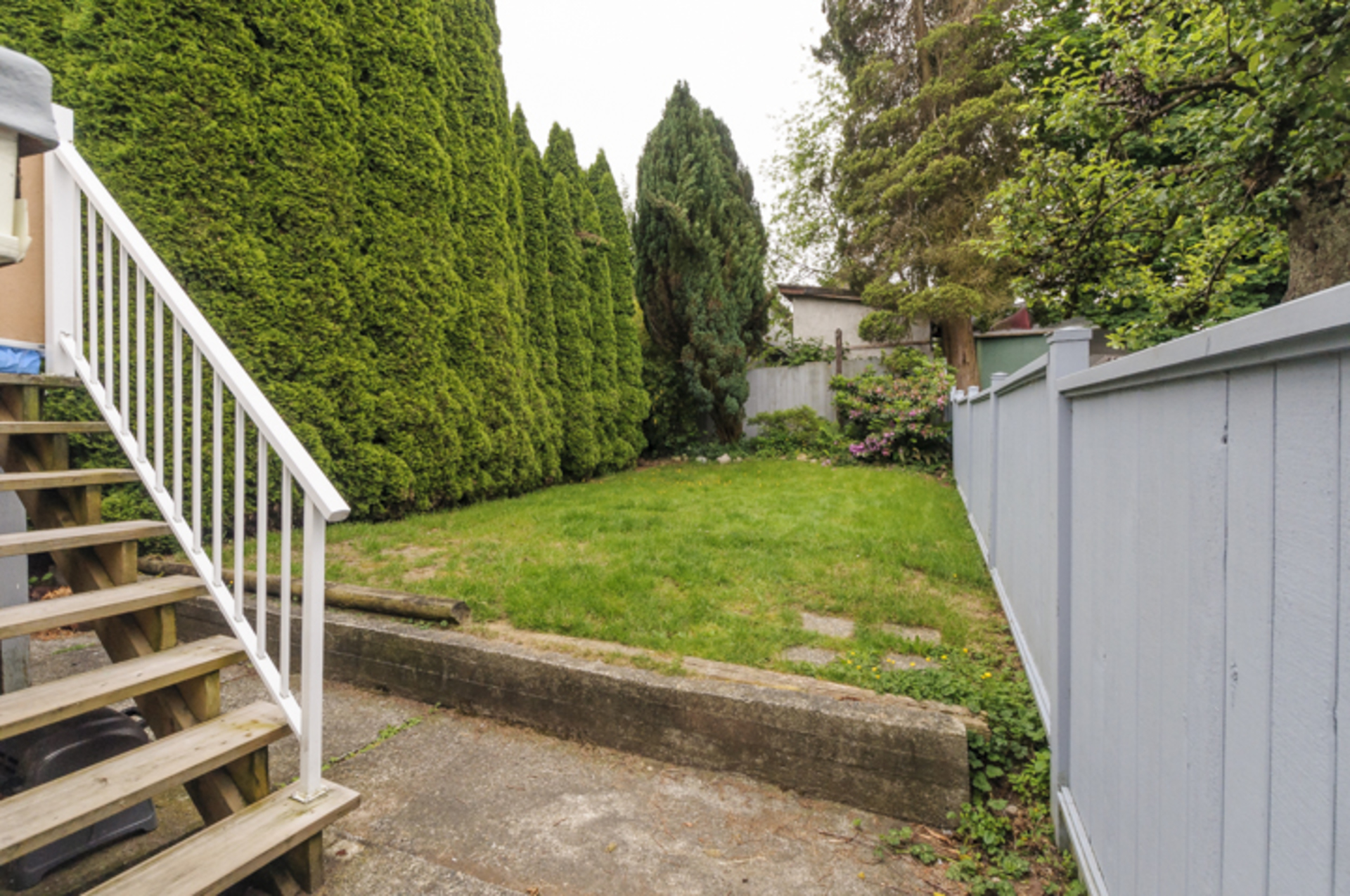 View of back yard at 28 East 26th Avenue, Main, Vancouver East