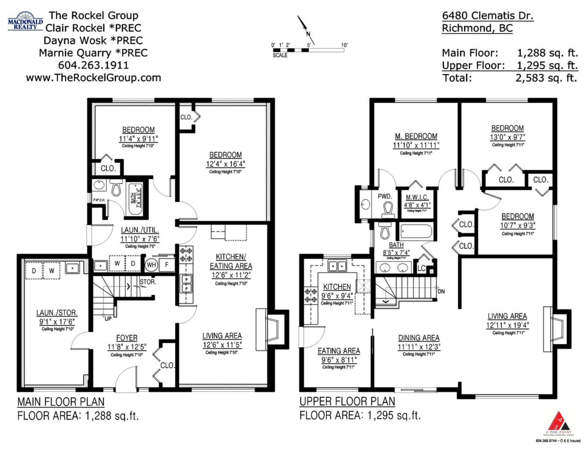 Floorplans at 6480 Clematis Drive, Riverdale RI, Richmond