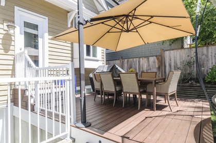 Sundeck - Adjustable deck umberella! at 876 West 23rd Avenue, Cambie, Vancouver West