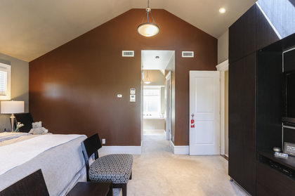 Master Bedroom at 876 West 23rd Avenue, Cambie, Vancouver West