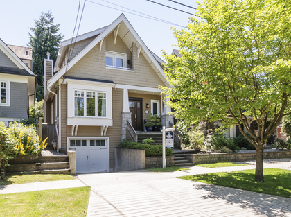 Exterior Front at 876 West 23rd Avenue, Cambie, Vancouver West
