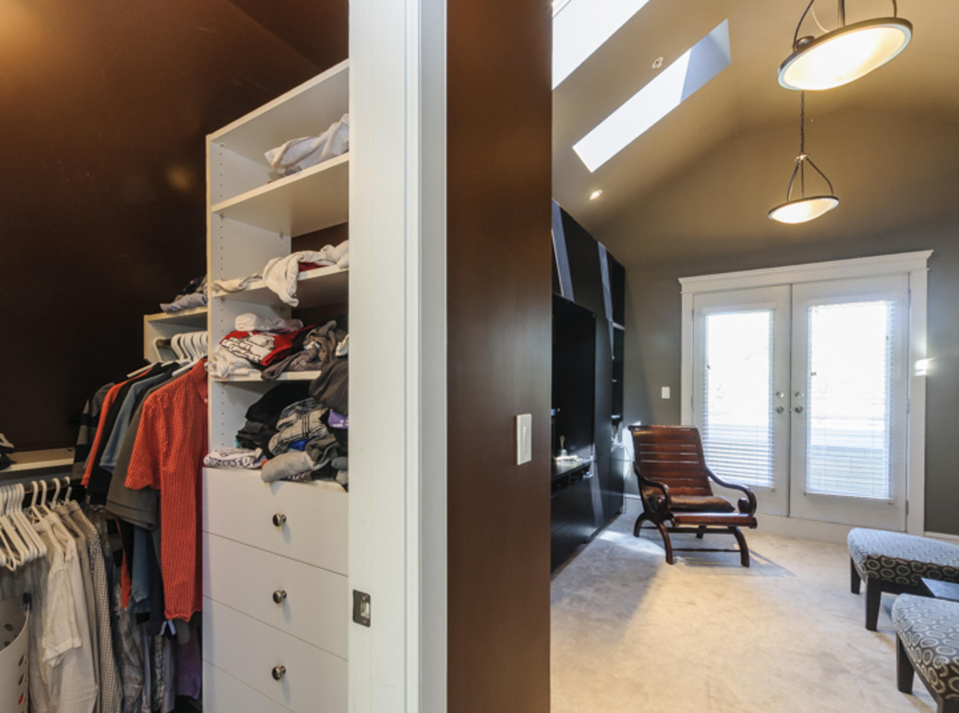 His & Her's walk in closets at 876 West 23rd Avenue, Cambie, Vancouver West