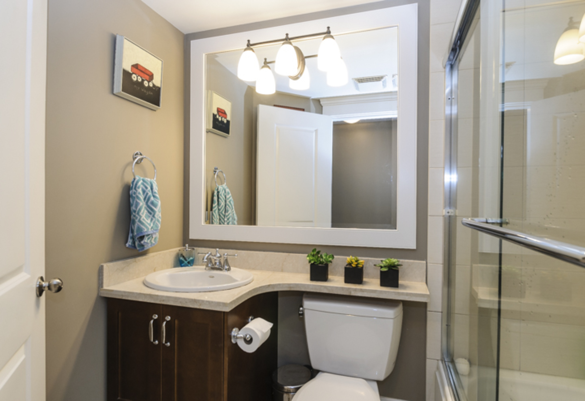 Bathroom - Lower level at 876 West 23rd Avenue, Cambie, Vancouver West