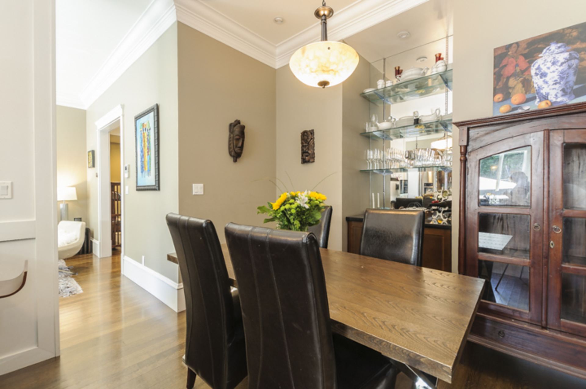 Dining Room - Take a look at those great buil in's! at 876 West 23rd Avenue, Cambie, Vancouver West