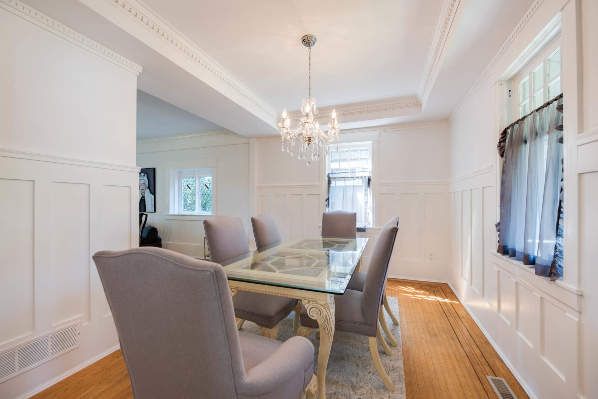 Dining Room at 2819 West 7th Avenue, Kitsilano, Vancouver West