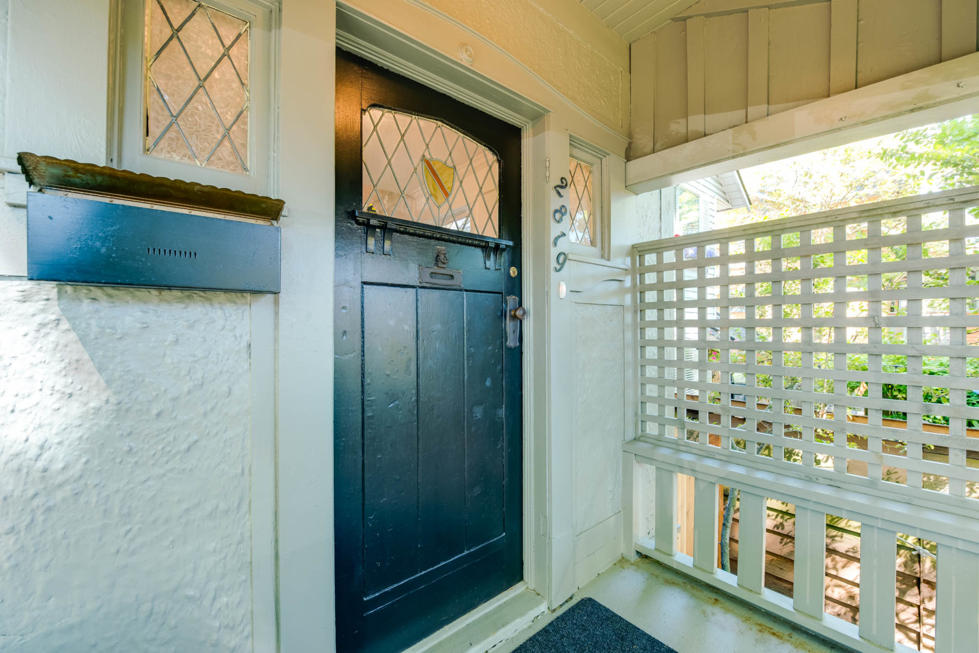 Covered Porch Entry at 2819 West 7th Avenue, Kitsilano, Vancouver West