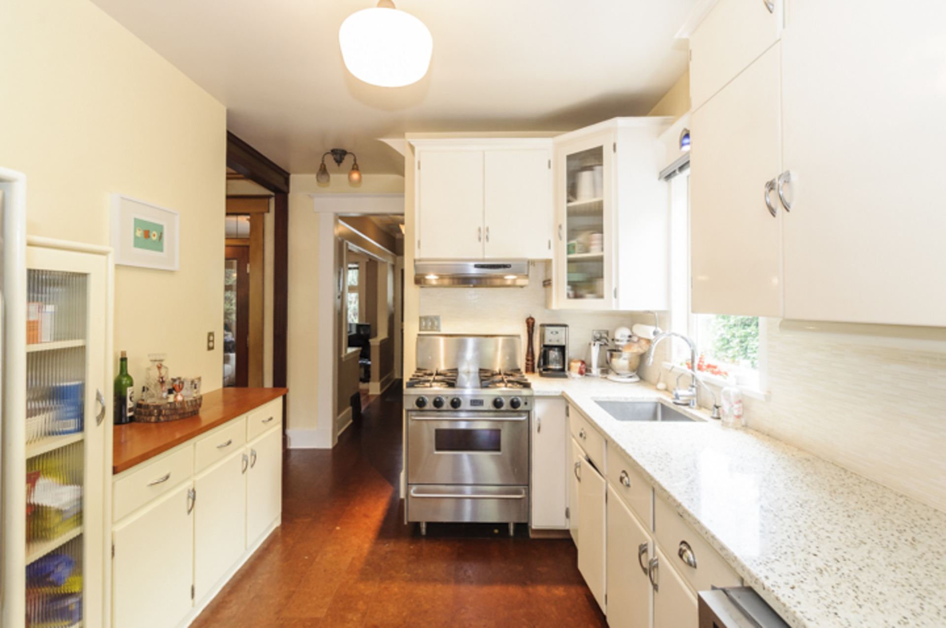 Updated kitchen at 2617 West 7th Avenue, Kitsilano, Vancouver West
