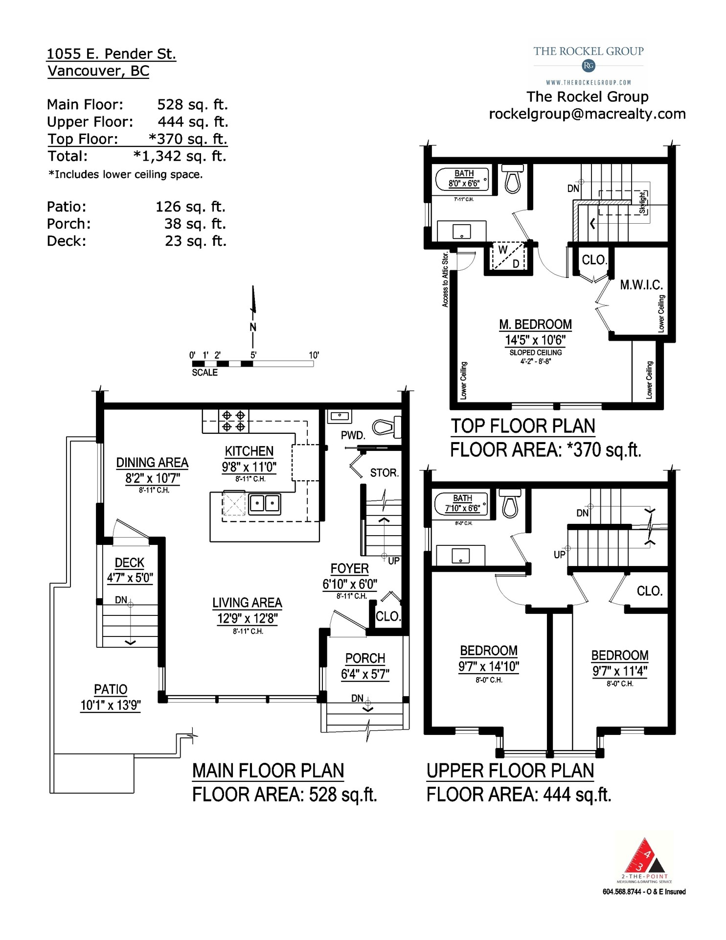 Floorplans at 1055 East Pender Street, Mount Pleasant VE, Vancouver East