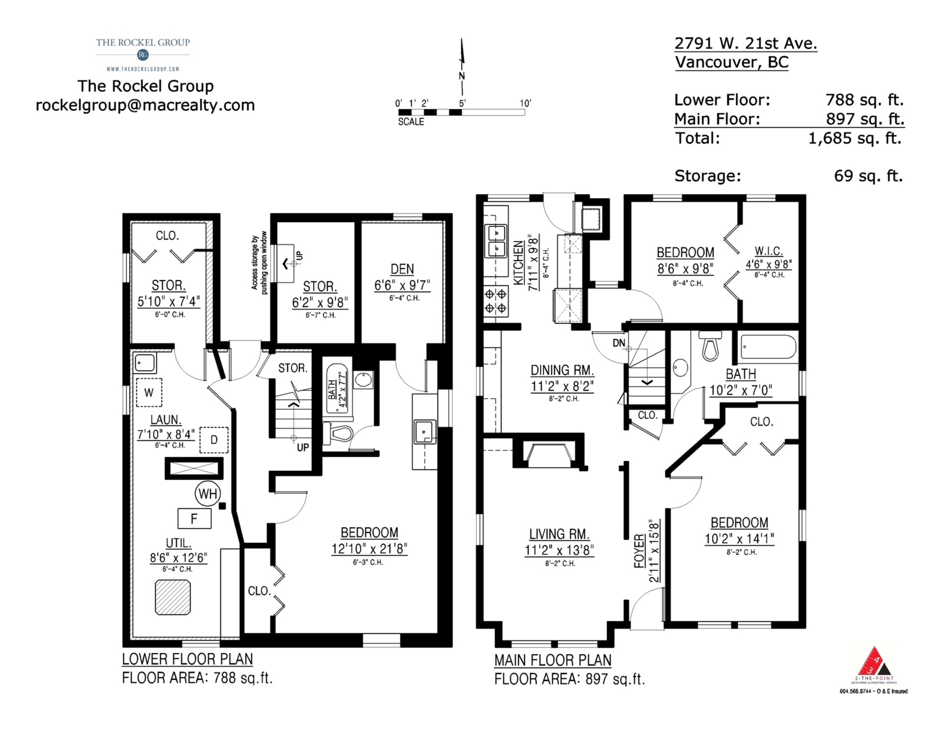 2791-west-21st-ave-floorplans at 2791 West 21st Avenue, Arbutus, Vancouver West