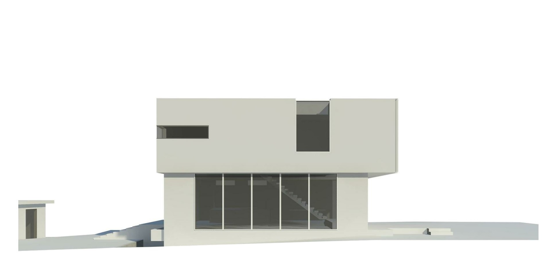 Rendering of Modern design option at 2595 West 14th Avenue, Kitsilano, Vancouver West