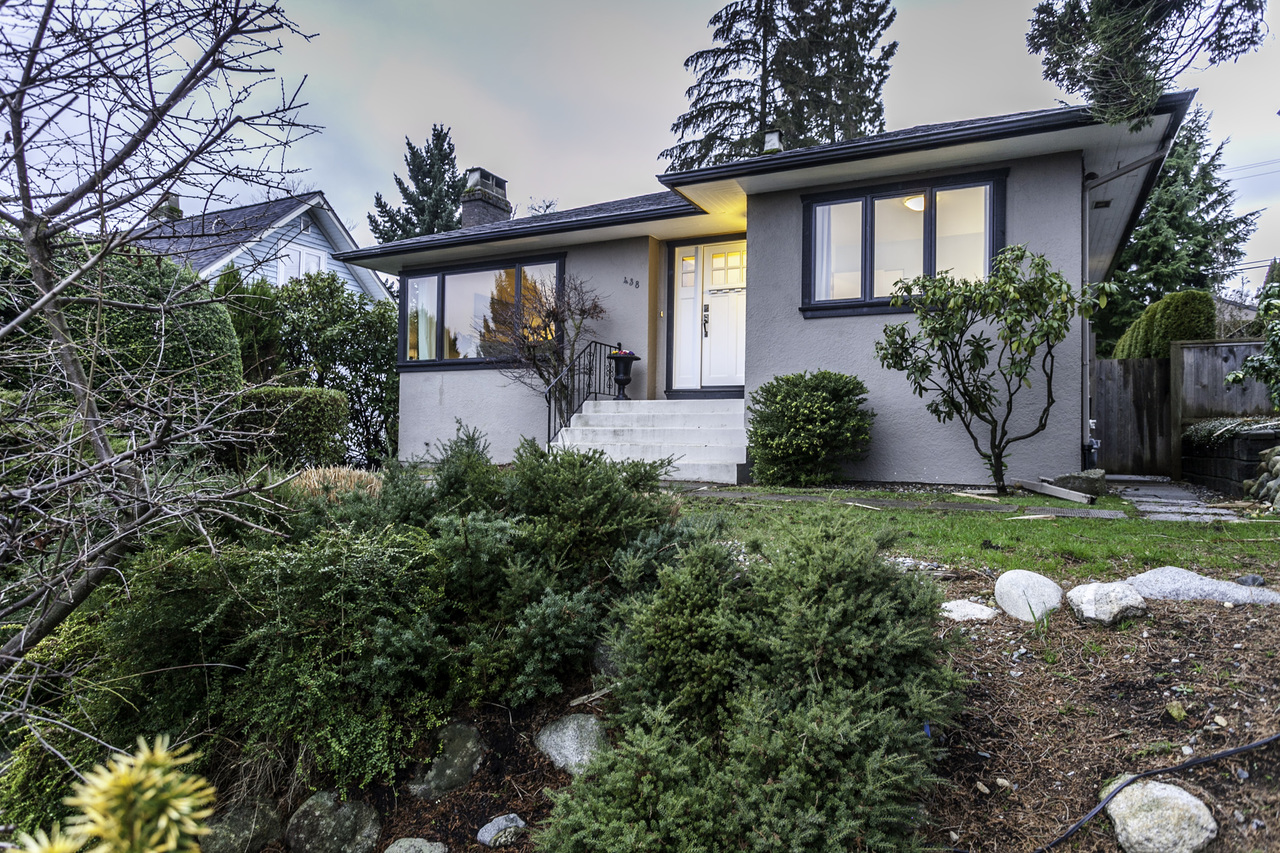 Exterior Front 03 at 438 E 17th Street, Central Lonsdale, North Vancouver