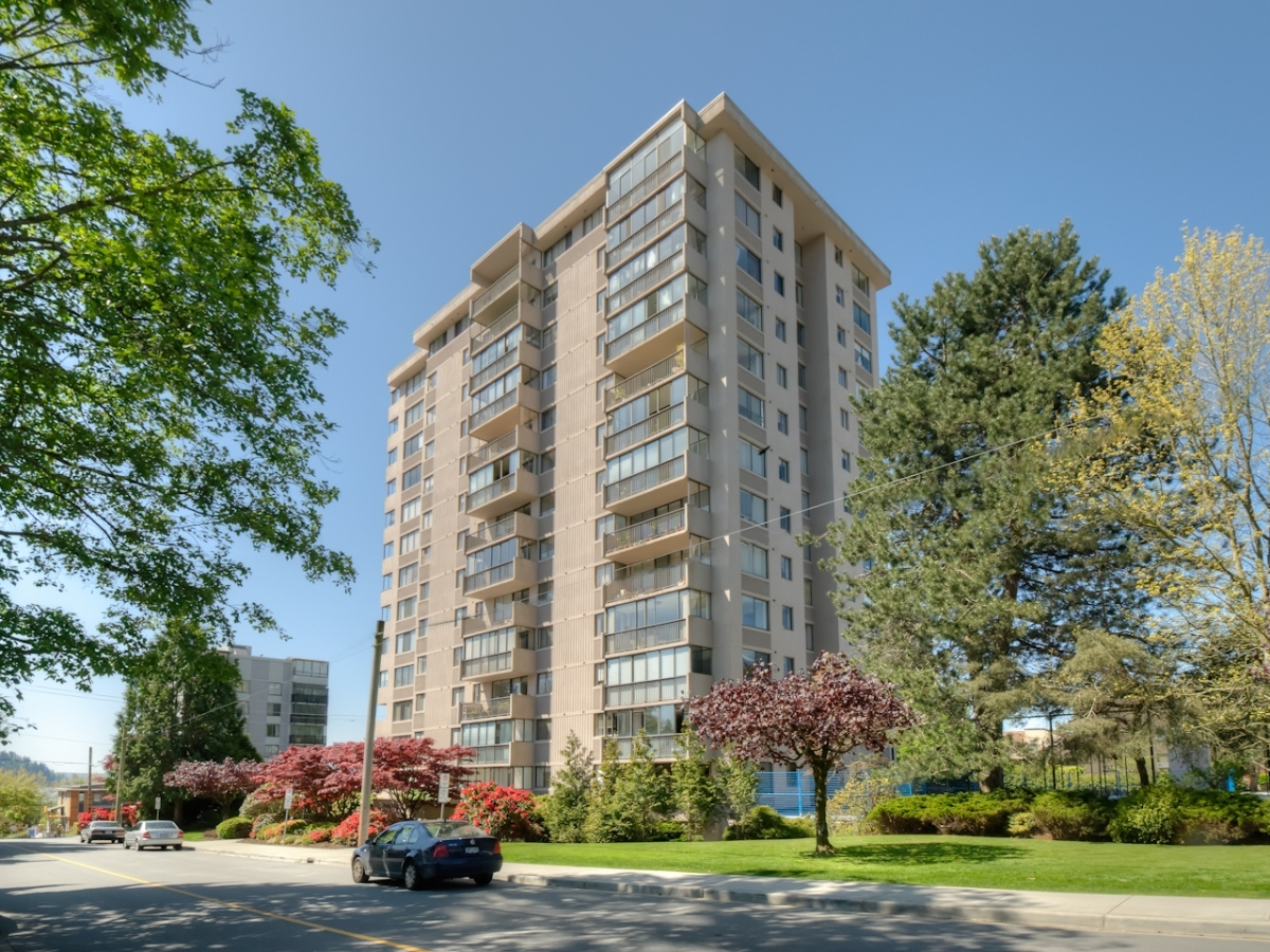 ExteriorFront.jpg at #905 - 555 13th Street, Ambleside, West Vancouver