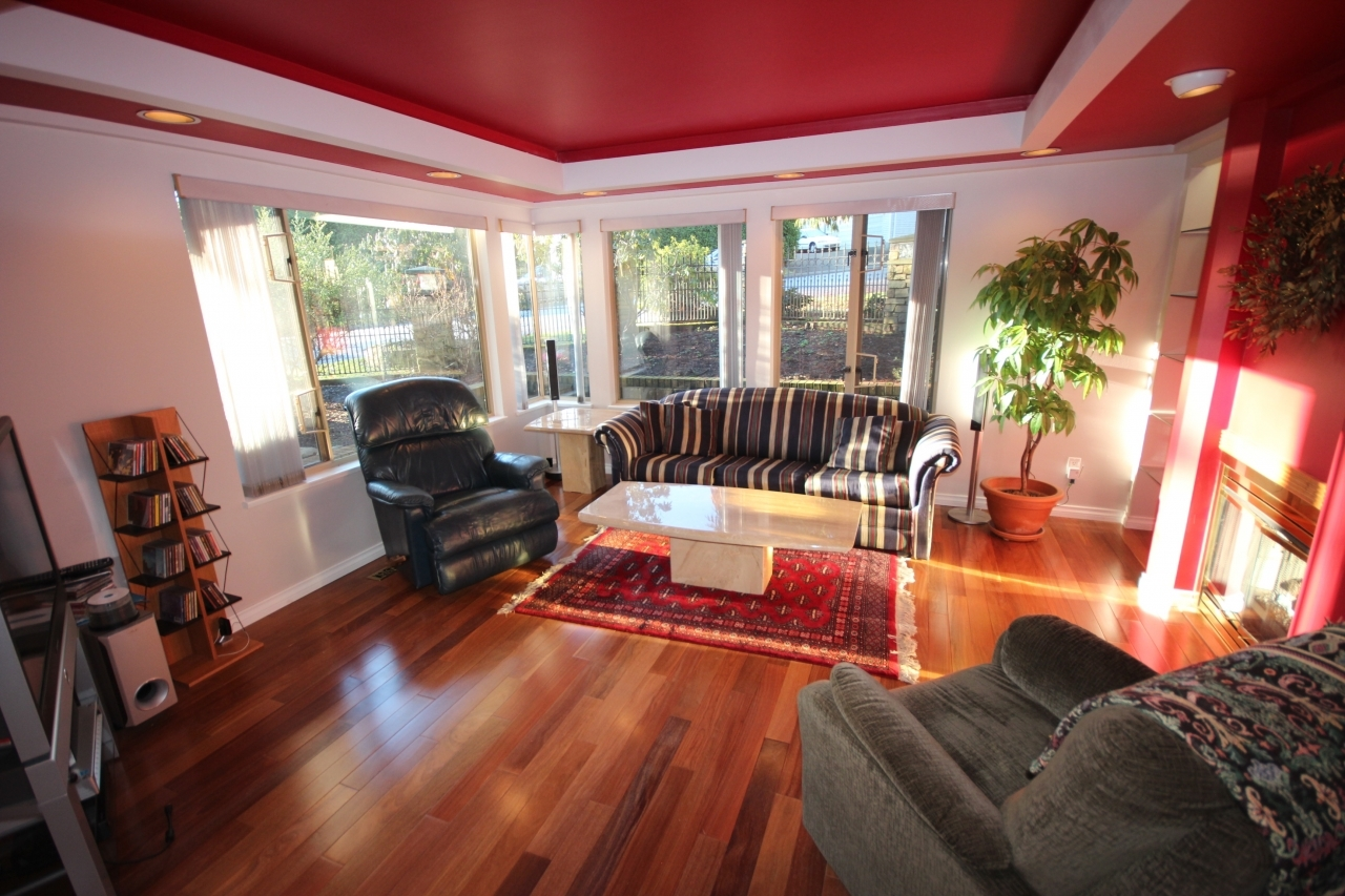 Family Room at 4388 Mount Seymour Parkway, Dollarton, North Vancouver
