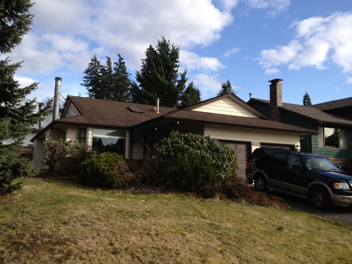 Exterior at 1194 Brockton Place, Indian River, North Vancouver