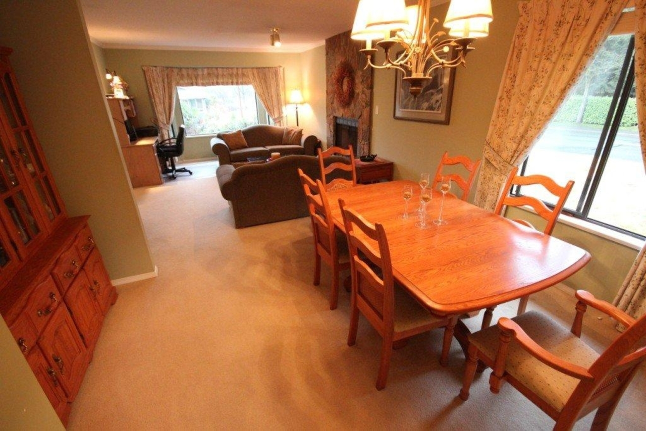 living dining at 1194 Brockton Place, Indian River, North Vancouver