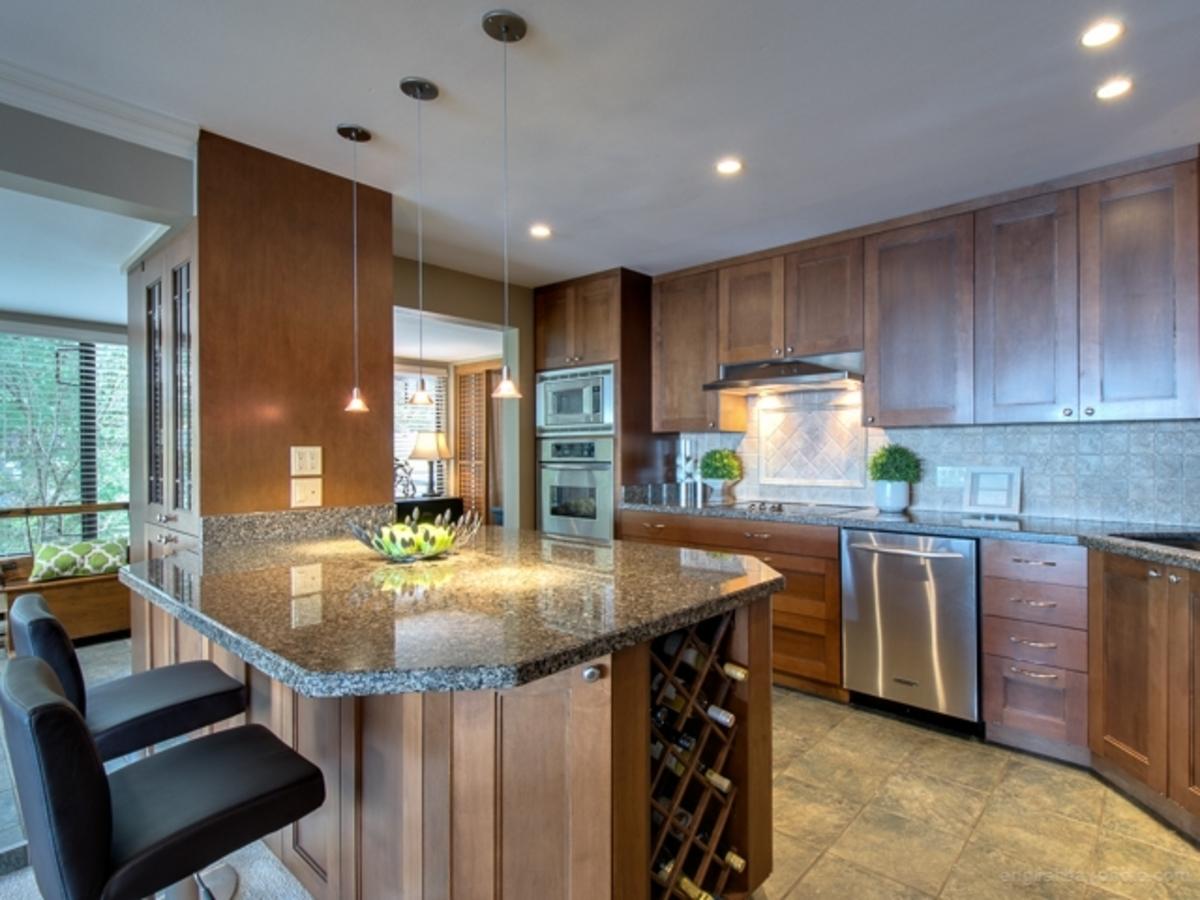 Kitchen 1 at 30 - 2250 Folkestone Way, Panorama Village, West Vancouver