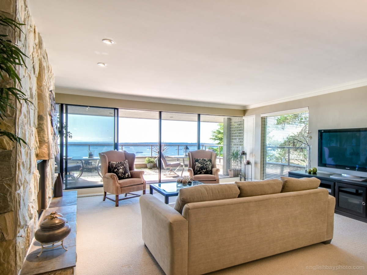 Living Room 1 at 30 - 2250 Folkestone Way, Panorama Village, West Vancouver
