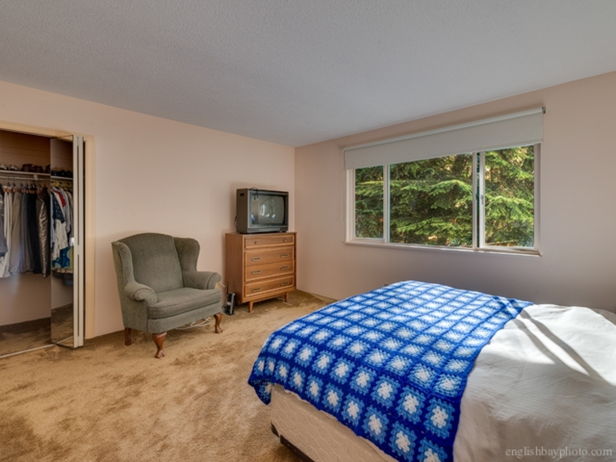 Bedroom at 5179 Headland Drive, Upper Caulfeild, West Vancouver