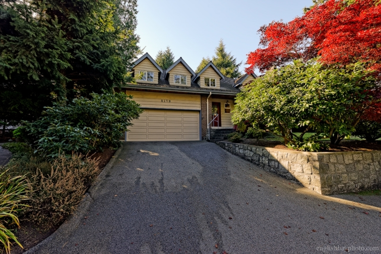 Driveway at 5179 Headland Drive, Upper Caulfeild, West Vancouver