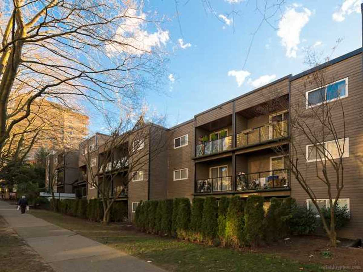 Top Floor apartment at 308 - 1550 Barclay Street, West End VW, Vancouver West