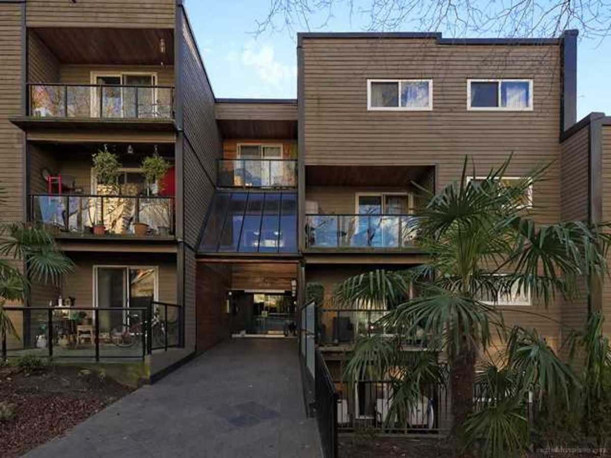 Double entry with updated security at 308 - 1550 Barclay Street, West End VW, Vancouver West