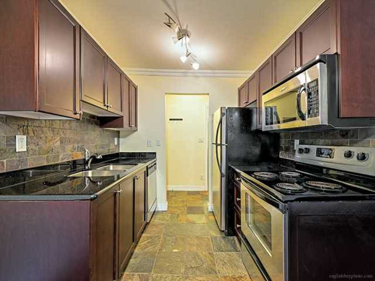 Updated kitchen with dishwasher. at 308 - 1550 Barclay Street, West End VW, Vancouver West