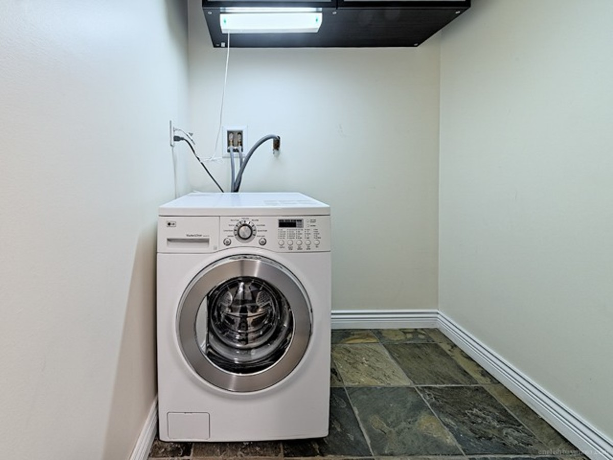 Washer/dyrer combo at 308 - 1550 Barclay Street, West End VW, Vancouver West