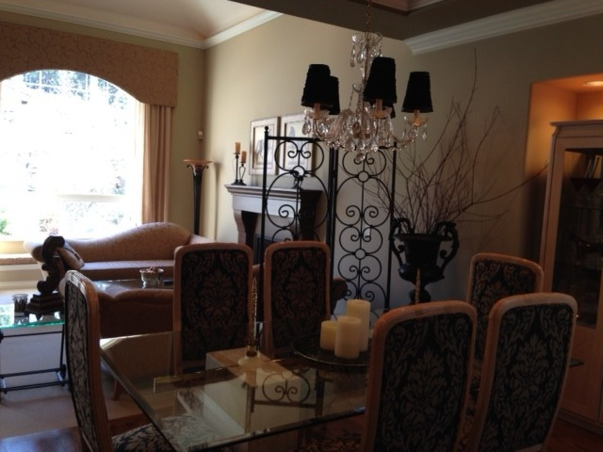 Dining Room at 1647 Orkney Place, Northlands, North Vancouver