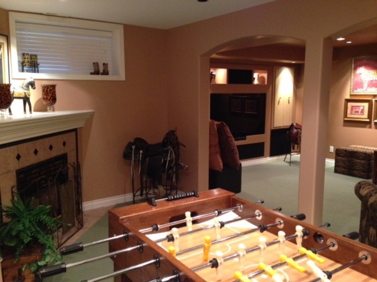 Family Room at 1647 Orkney Place, Northlands, North Vancouver