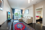 Living Room and master bedroom entrance at 302 - 4078 Knight Street, Knight, Vancouver East