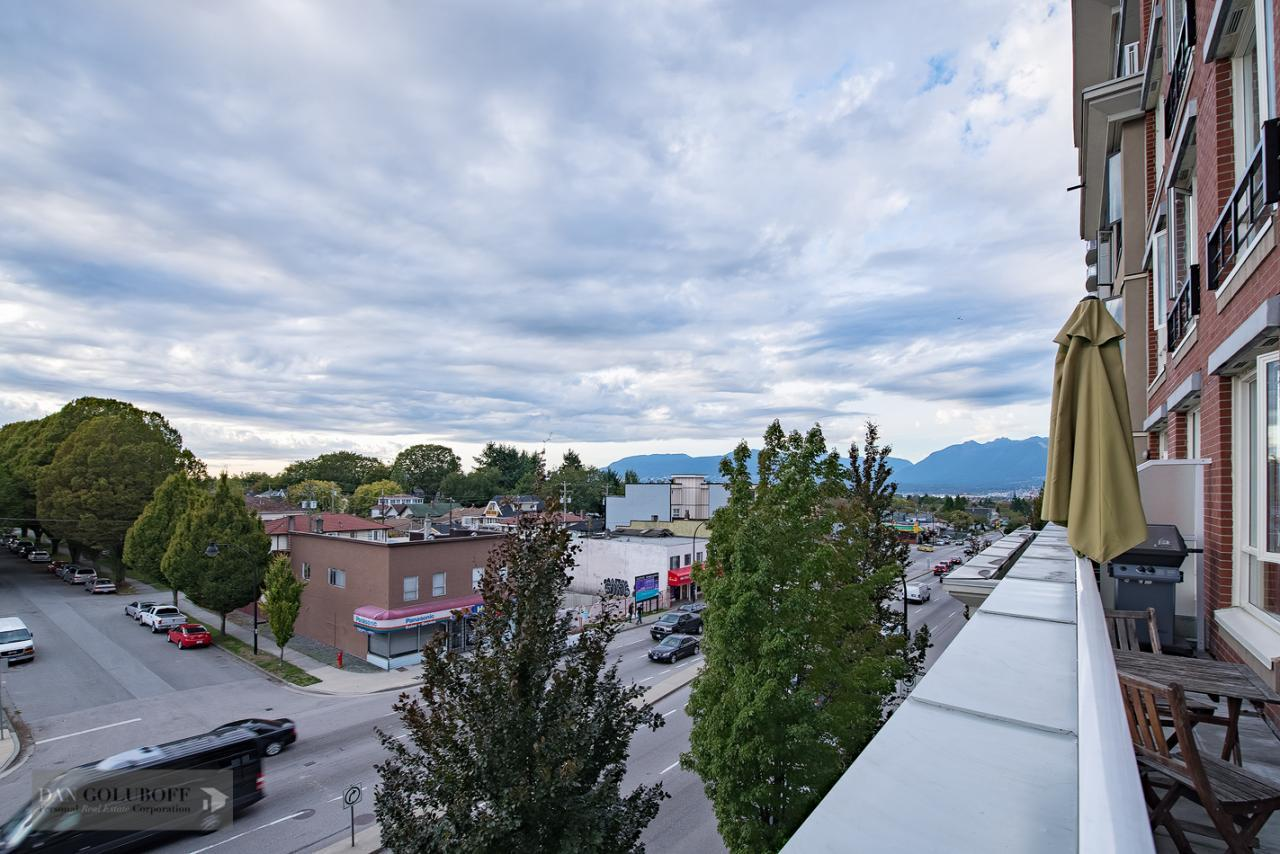 NorthWest View from deck at 302 - 4078 Knight Street, Knight, Vancouver East