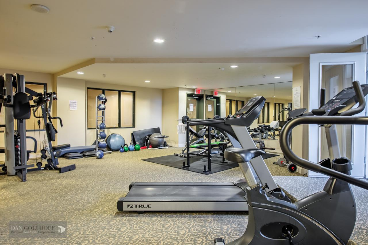 Gym/Workout area at 302 - 4078 Knight Street, Knight, Vancouver East