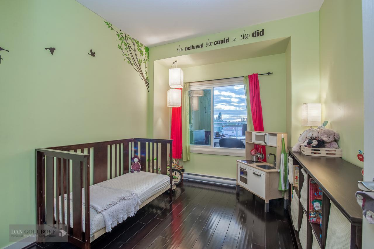 Second Bedroom at 302 - 4078 Knight Street, Knight, Vancouver East