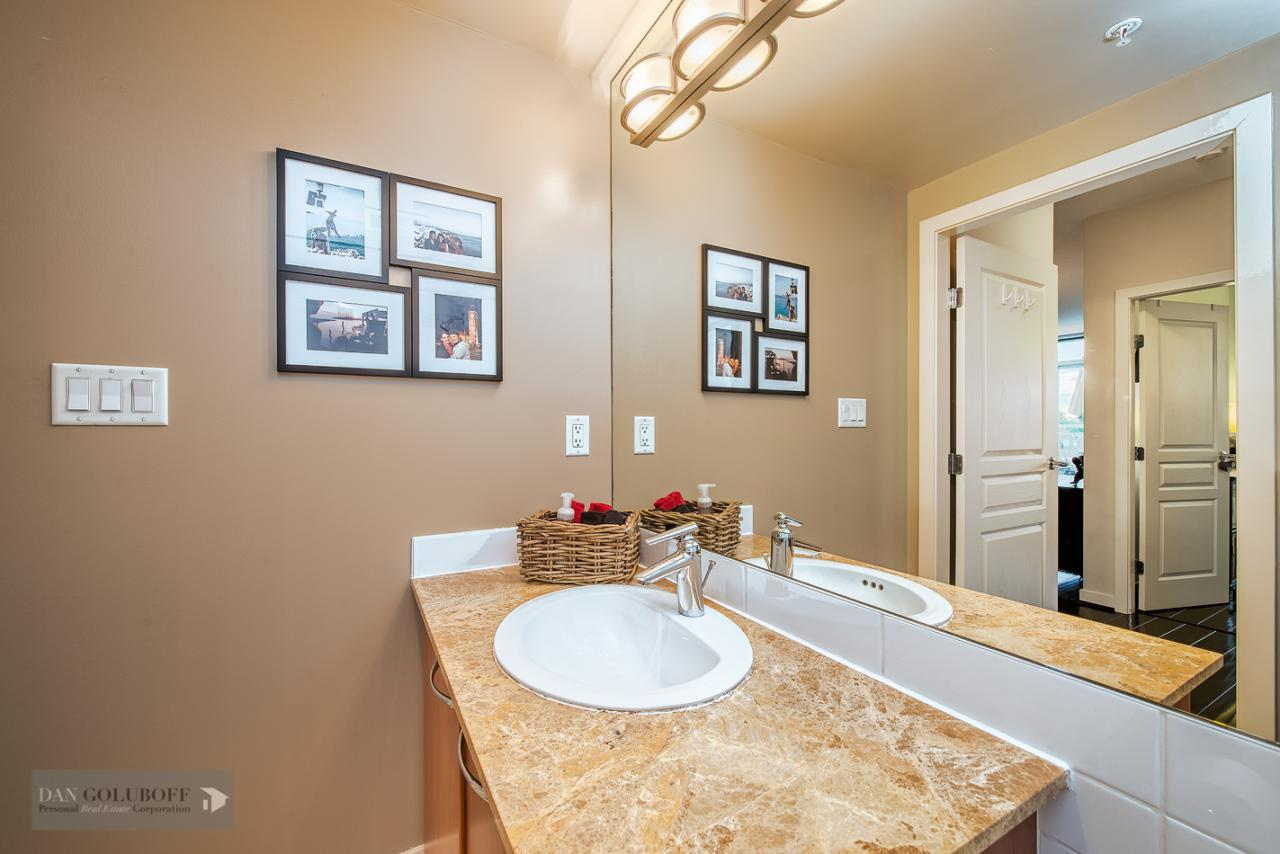 2nd bathroom at 302 - 4078 Knight Street, Knight, Vancouver East