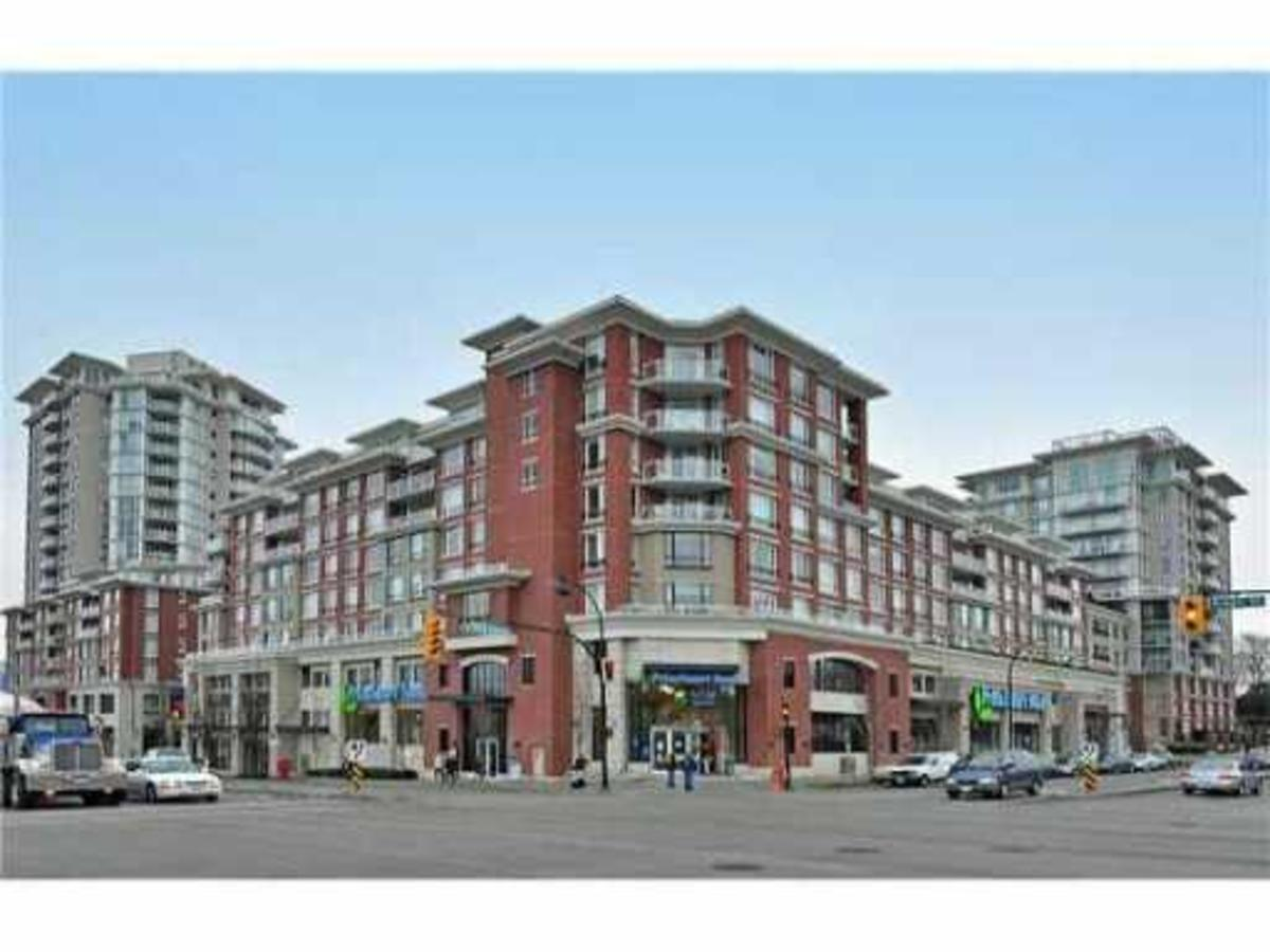Building exterior at 302 - 4078 Knight Street, Knight, Vancouver East