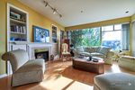 Modern West Van Condo - Living Room at 306 - 1765 Marine Drive, Ambleside, West Vancouver