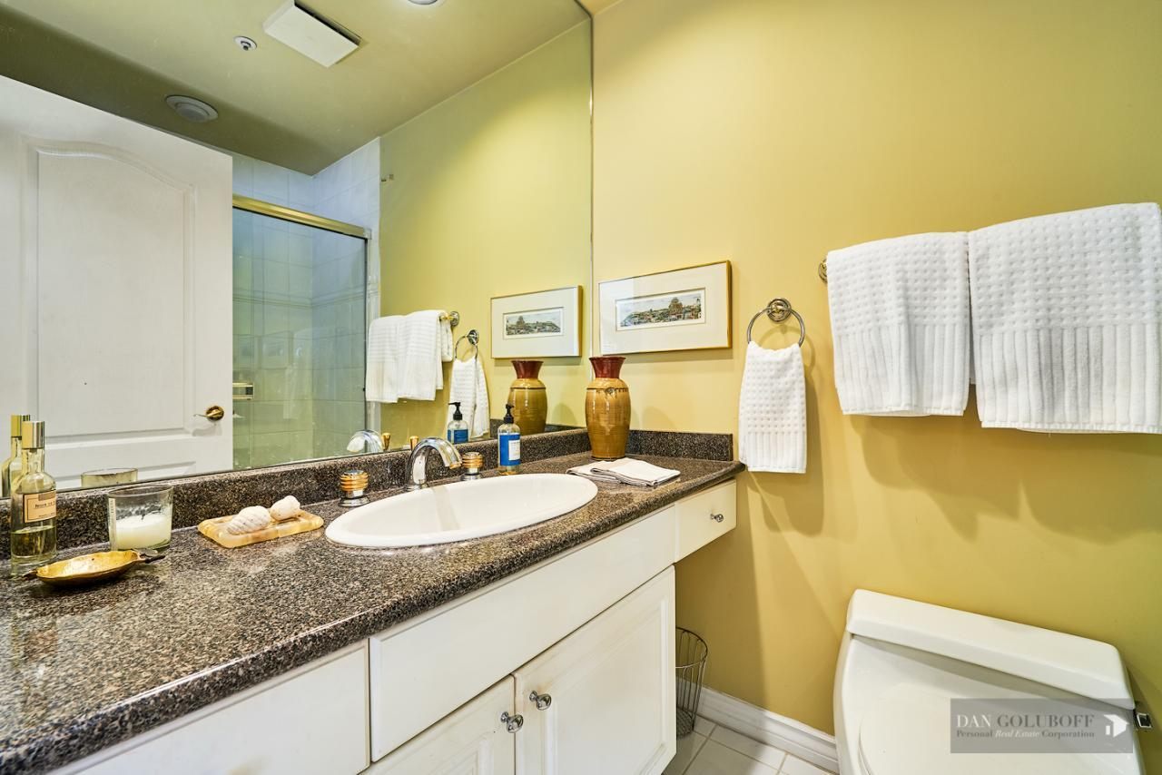 Modern West Van Condo - Master Ensuite  at 306 - 1765 Marine Drive, Ambleside, West Vancouver