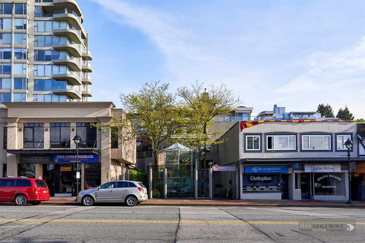 Modern West Van Condo - Exterior  at 306 - 1765 Marine Drive, Ambleside, West Vancouver