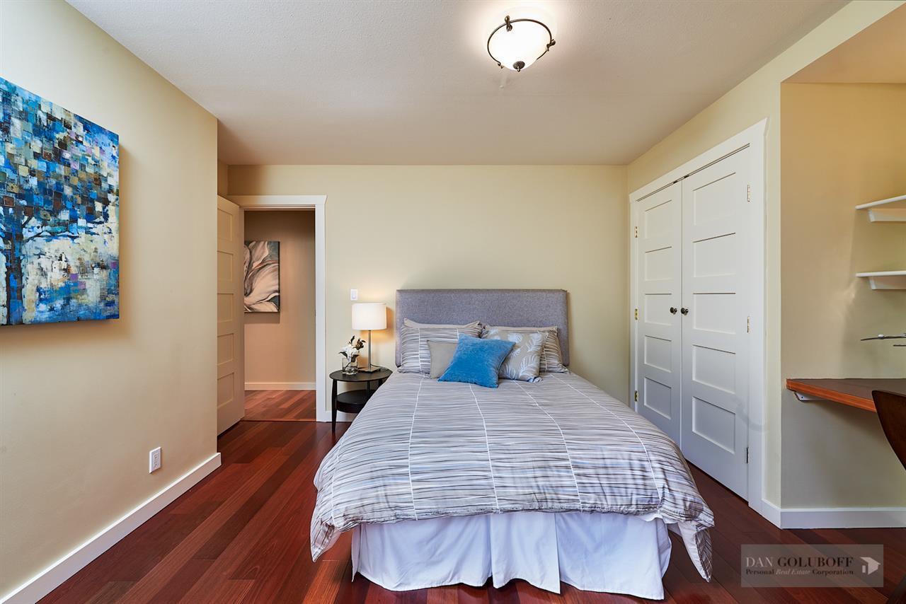 Deep Cove Custom Home - Master Bedroom  at 4377 Raeburn Street, Deep Cove, North Vancouver