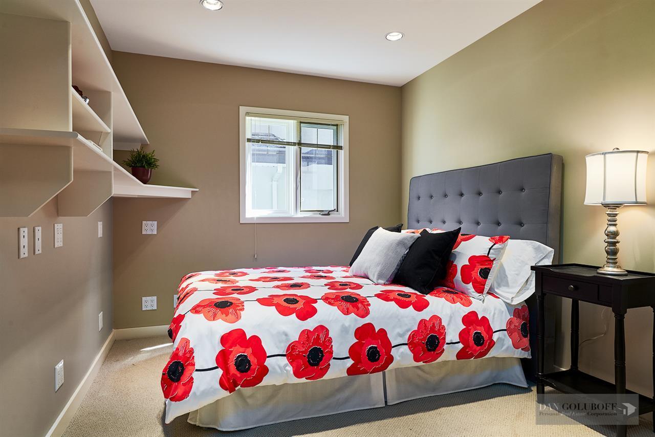 Deep Cove Custom Home - Bedroom  at 4377 Raeburn Street, Deep Cove, North Vancouver