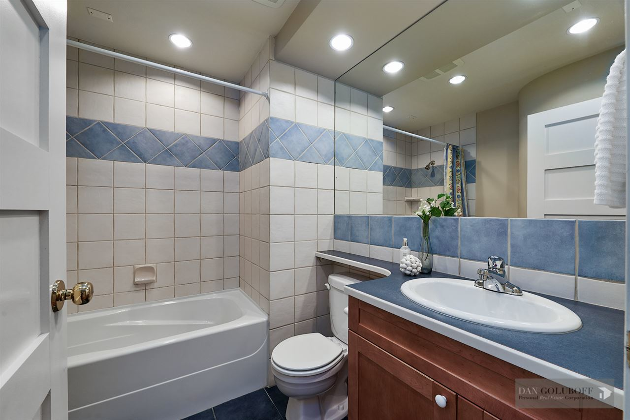 Deep Cove Custom Home - Bathroom  at 4377 Raeburn Street, Deep Cove, North Vancouver