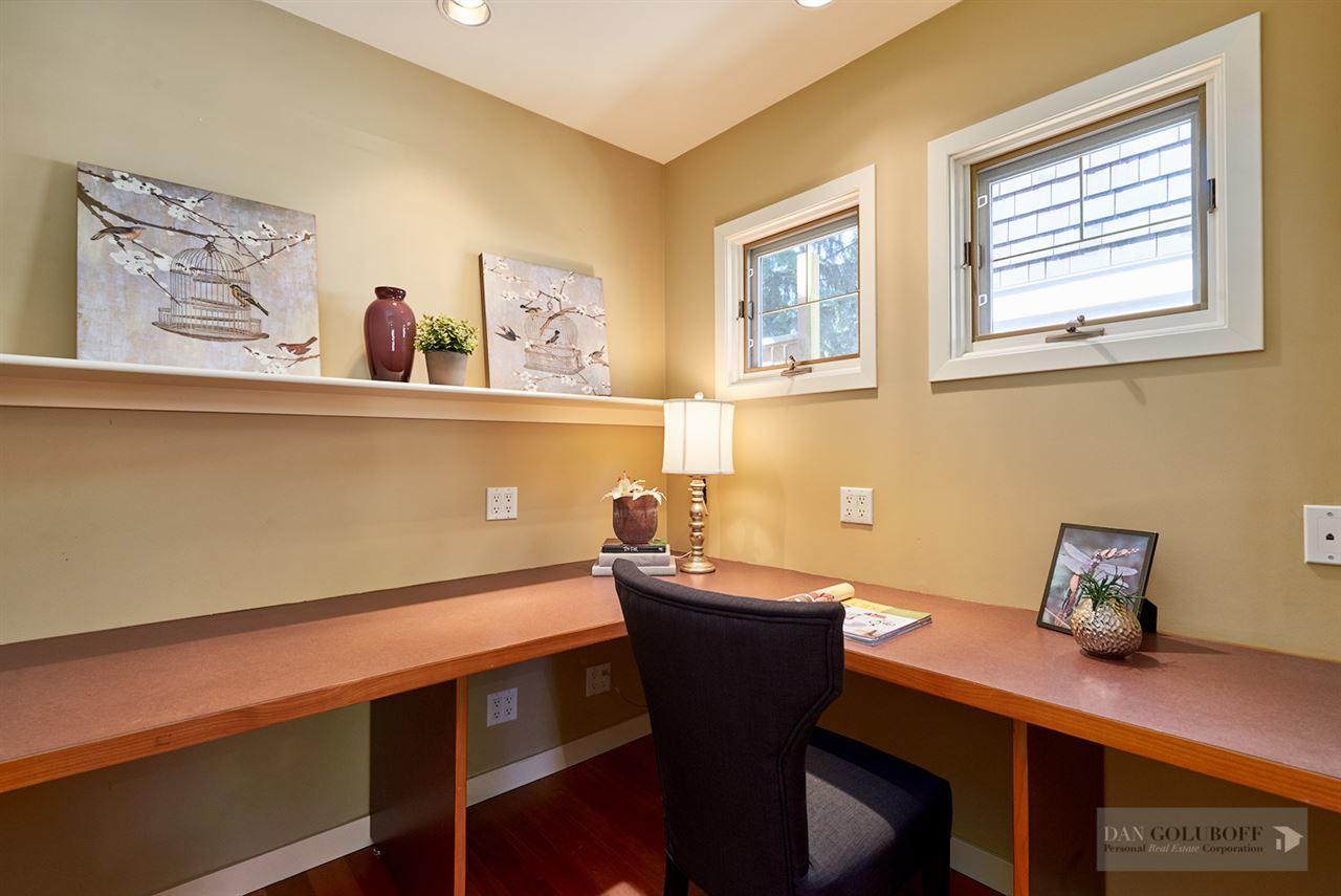 Deep Cove Custom Home - Office/Den at 4377 Raeburn Street, Deep Cove, North Vancouver