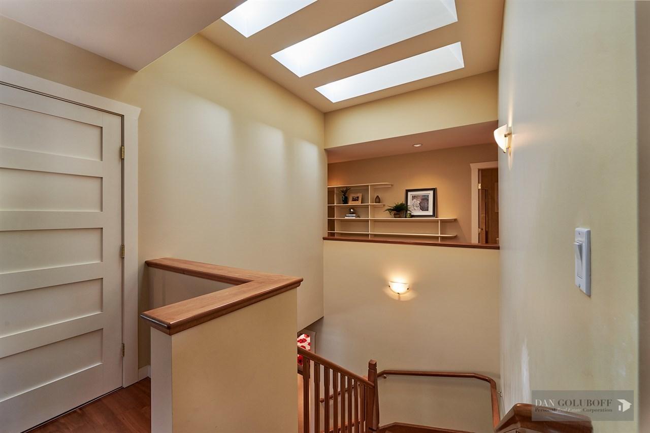 Deep Cove Custom Home - Stairwell  at 4377 Raeburn Street, Deep Cove, North Vancouver