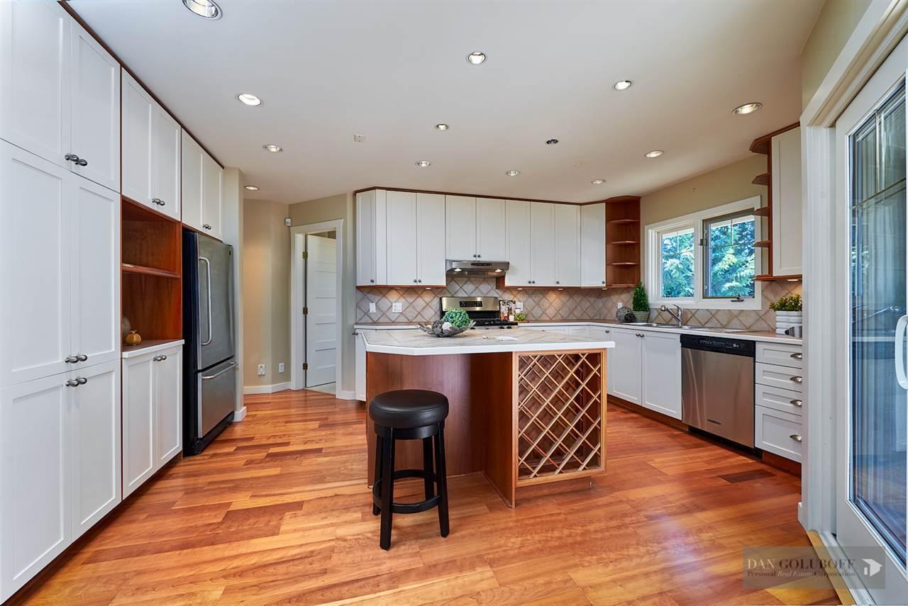 Deep Cove Custom Home - Kitchen  at 4377 Raeburn Street, Deep Cove, North Vancouver