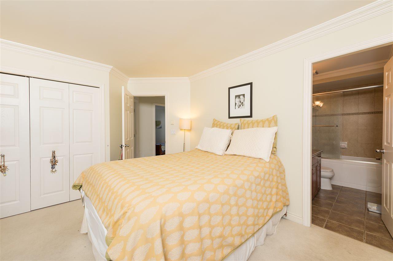 Bright Duplex Burnaby master bedroom  at 4327 Albert Street, Vancouver Heights, Burnaby North