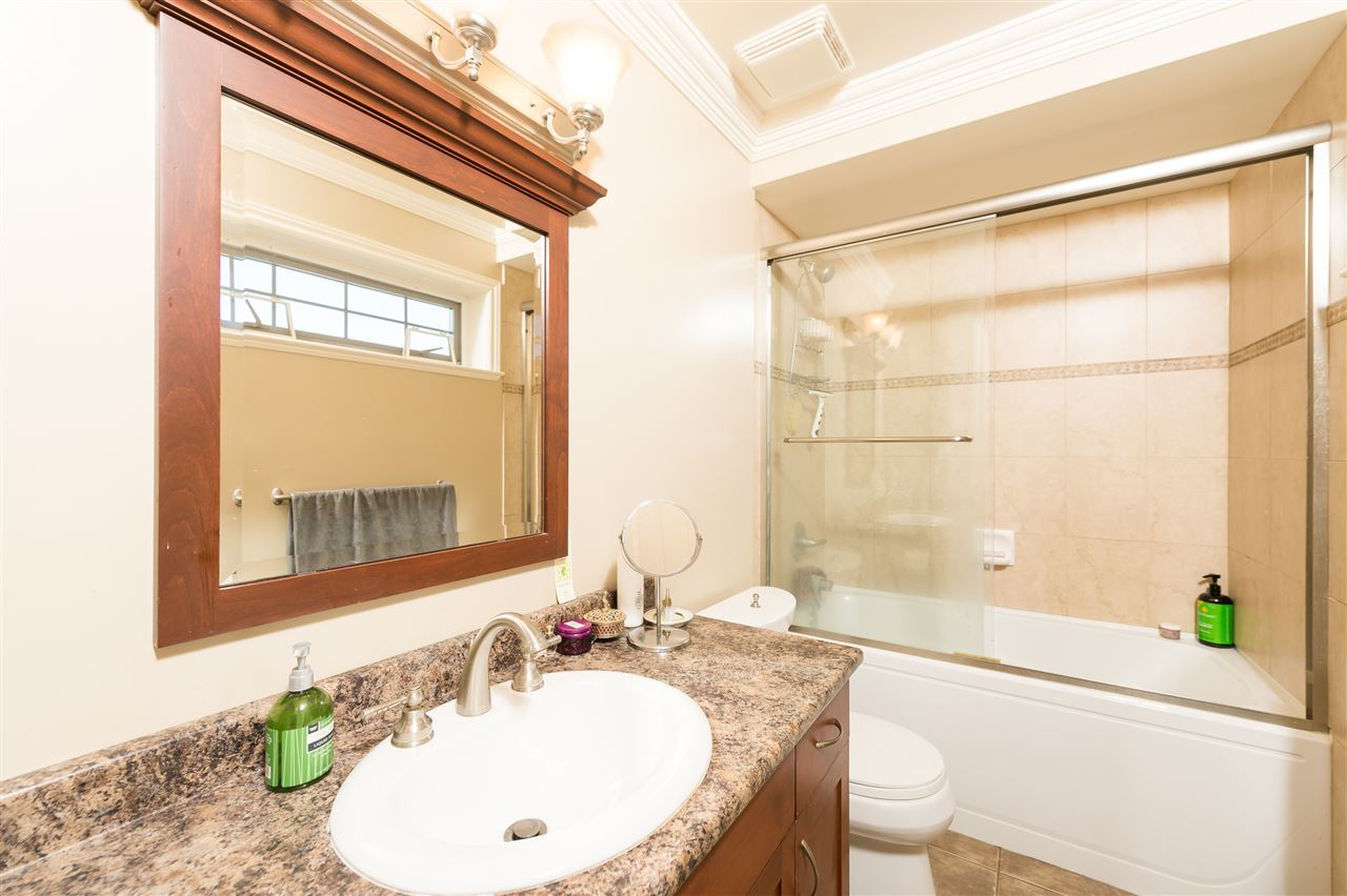 Bright Duplex Burnaby master ensuite at 4327 Albert Street, Vancouver Heights, Burnaby North